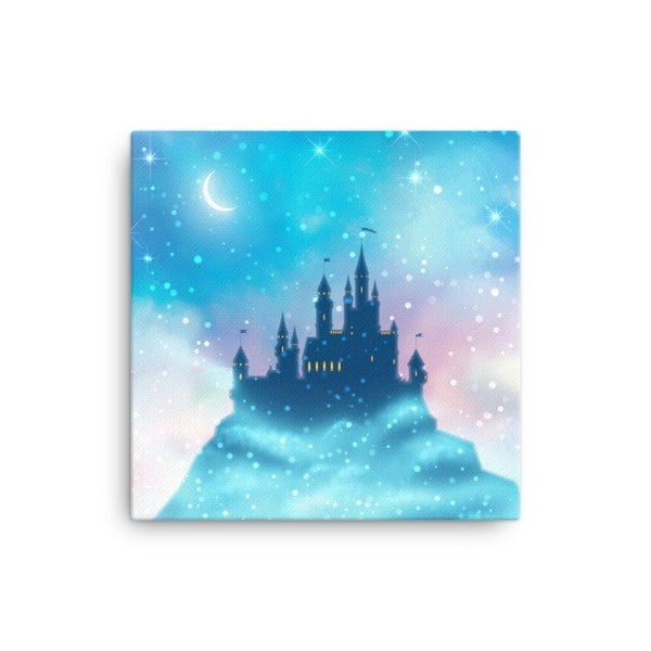 Enchanted castle Canvas - Hutsylife - 1