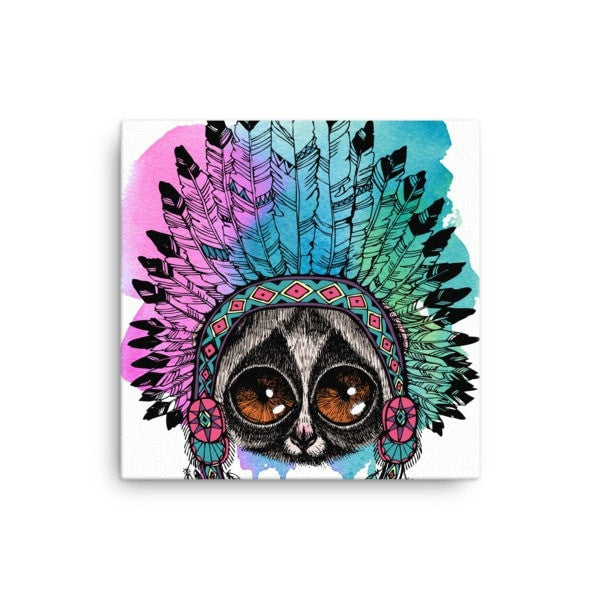Lori headress Canvas - Hutsylife - 1