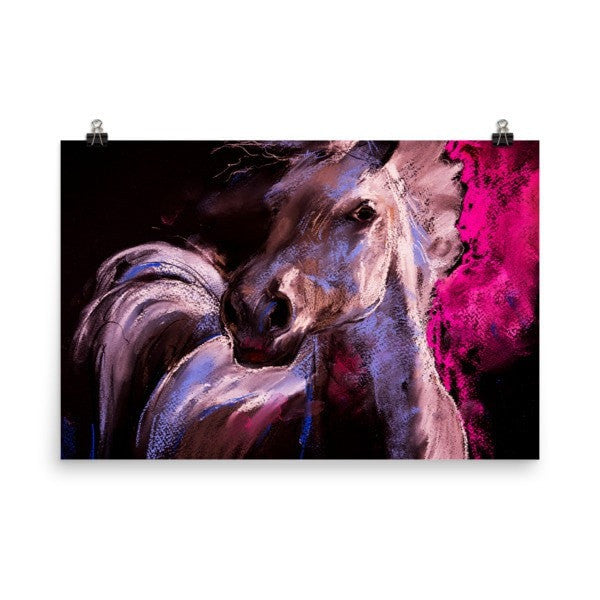 Pastel horse Poster - Hutsylife - 9