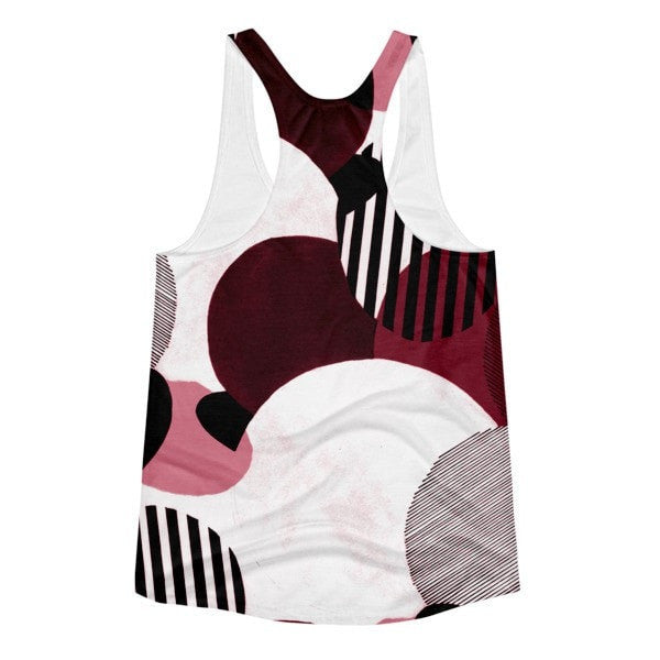All over print - Minimalist Women's racerback tank - Hutsylife - 2