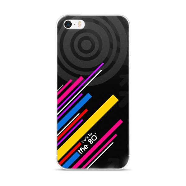 Back to the 80's iPhone case