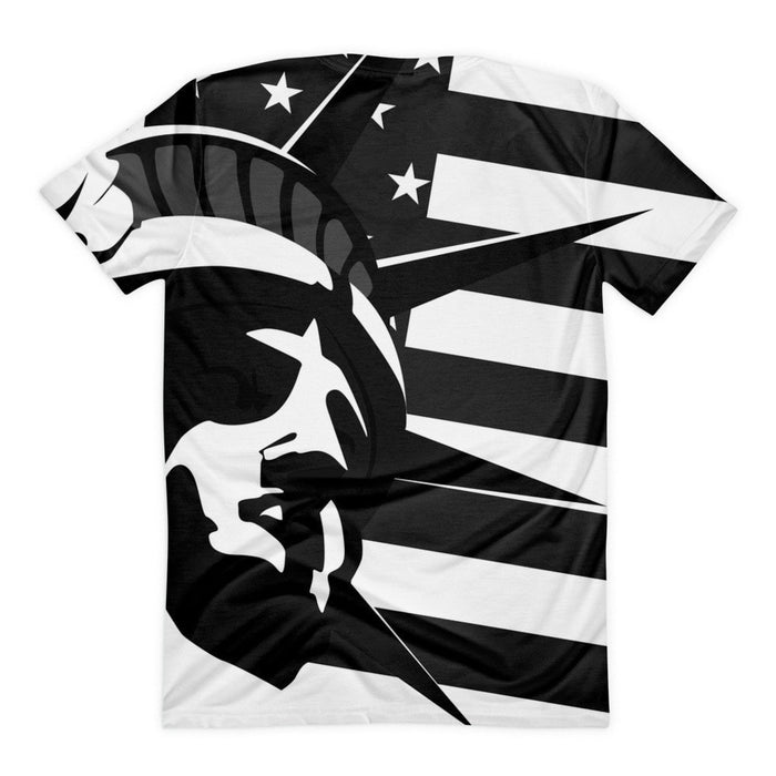All over print - Black liberty Women's sublimation t-shirt