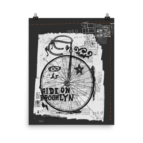 Ride on Poster - Hutsylife - 9