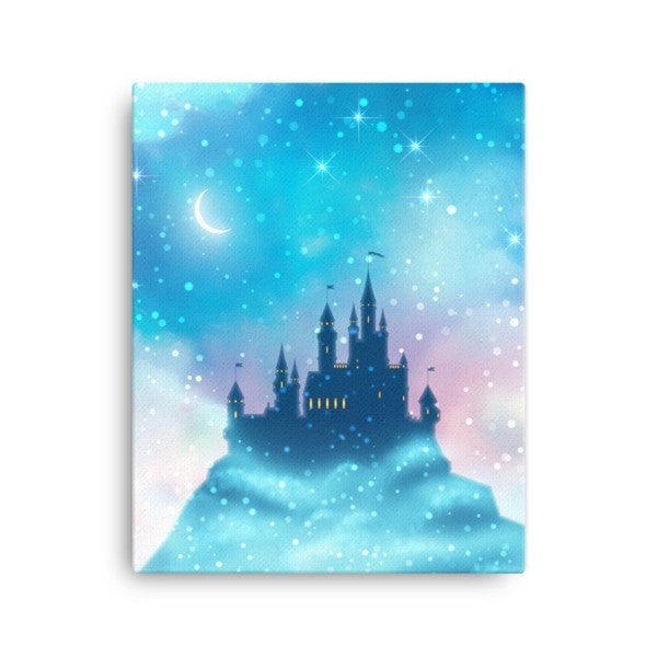 Enchanted castle Canvas - Hutsylife - 2