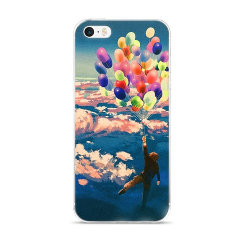 Balloon man iPhone case