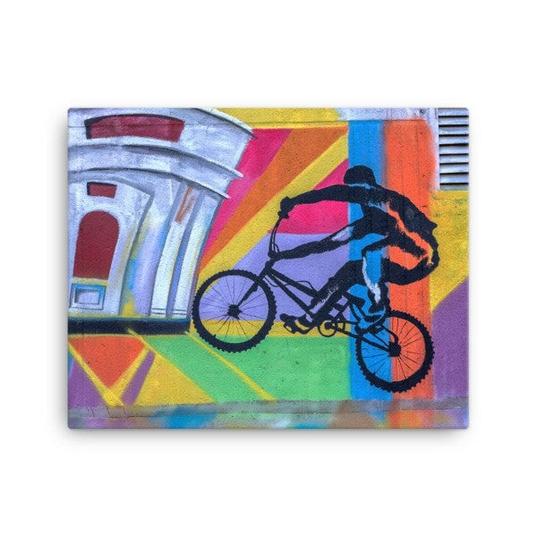 Bike life alter Canvas - Hutsylife - 2