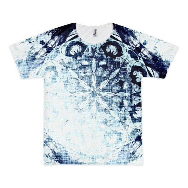 Cold blue Short sleeve men's t-shirt (unisex) - Hutsylife