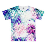 All over print - Spring floral Short sleeve men's t-shirt - Hutsylife - 1