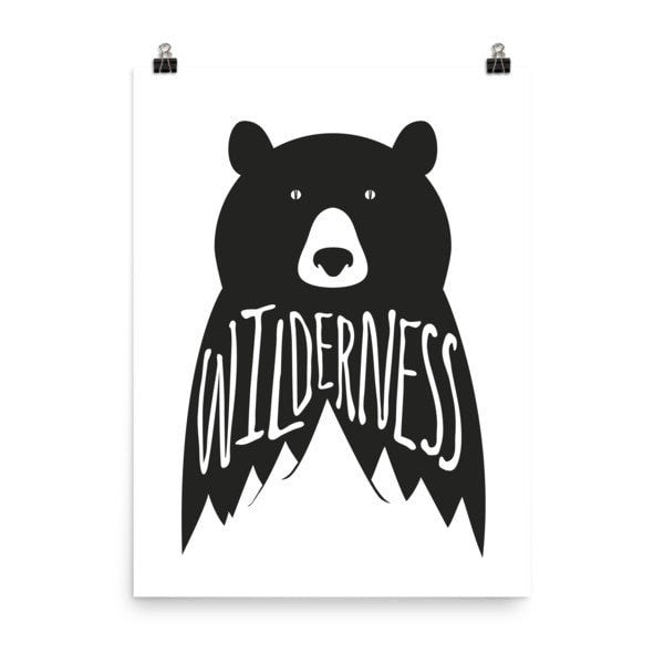 Wilderness Poster - Hutsylife - 6