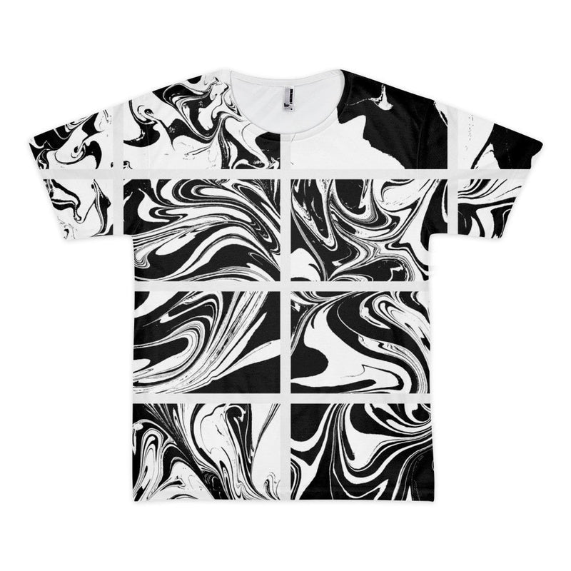 All over print - Marble collection Short sleeve men's t-shirt