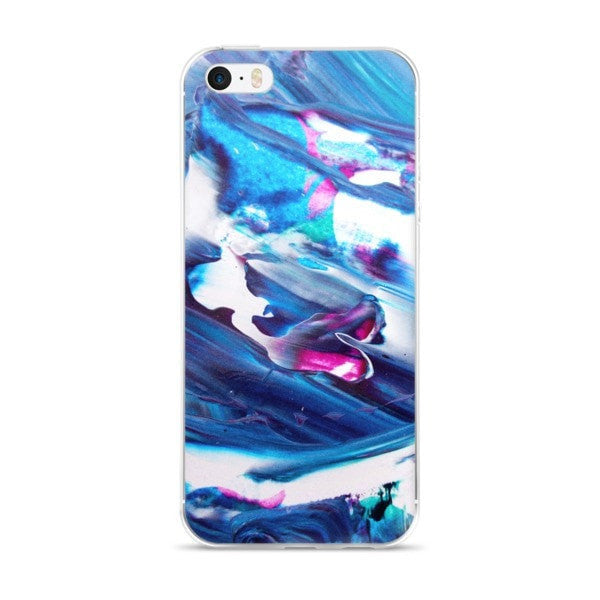 Acrylic blue iPhone case - Hutsylife - 1