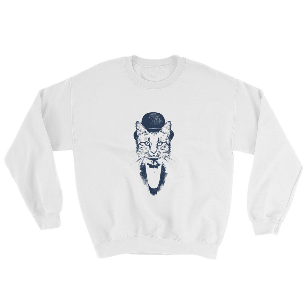 Cat Gentleman Crewneck