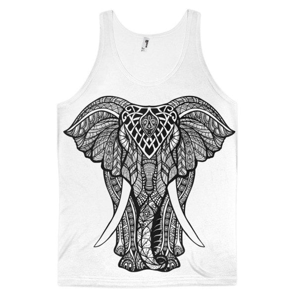 Charging Elephant Classic fit men's tank top - Hutsylife