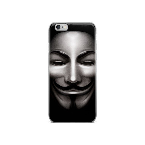 Anon Black iPhone case - Hutsylife - 3
