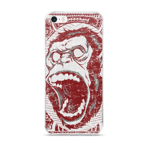Angry Monkey iPhone case - Hutsylife - 1
