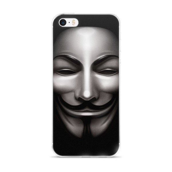 Anon Black iPhone case - Hutsylife - 1