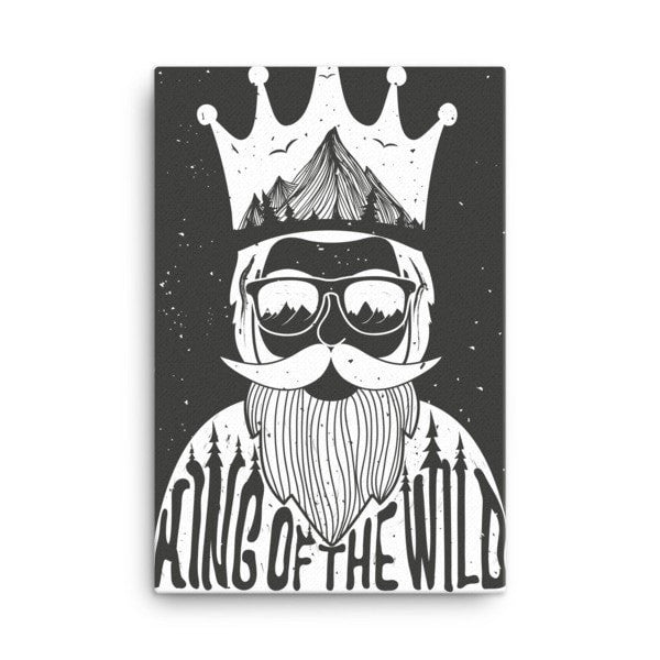 King of the Wild Canvas - Hutsylife - 4