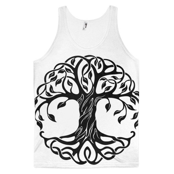 Tree of Life Classic fit men's tank top - Hutsylife