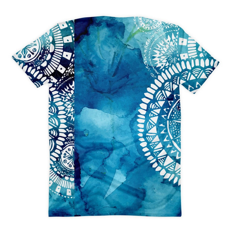 All over print - Blue Veritas Women's sublimation t-shirt