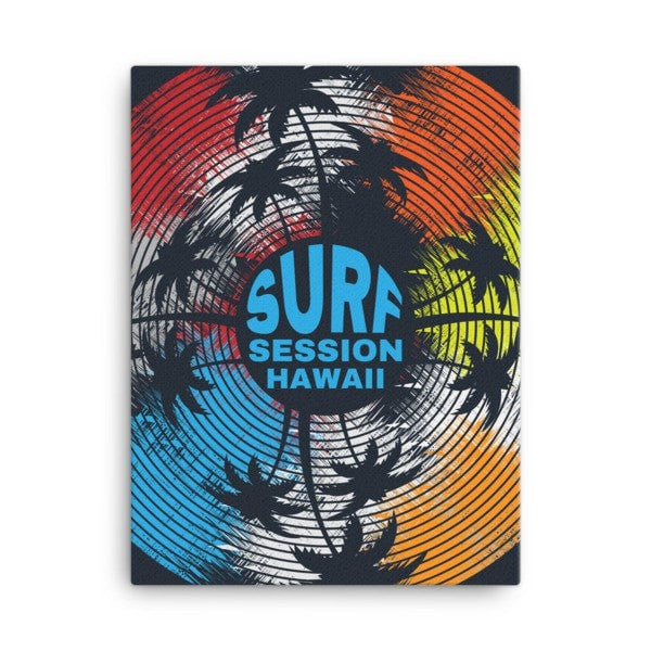 Surf session Canvas - Hutsylife - 3