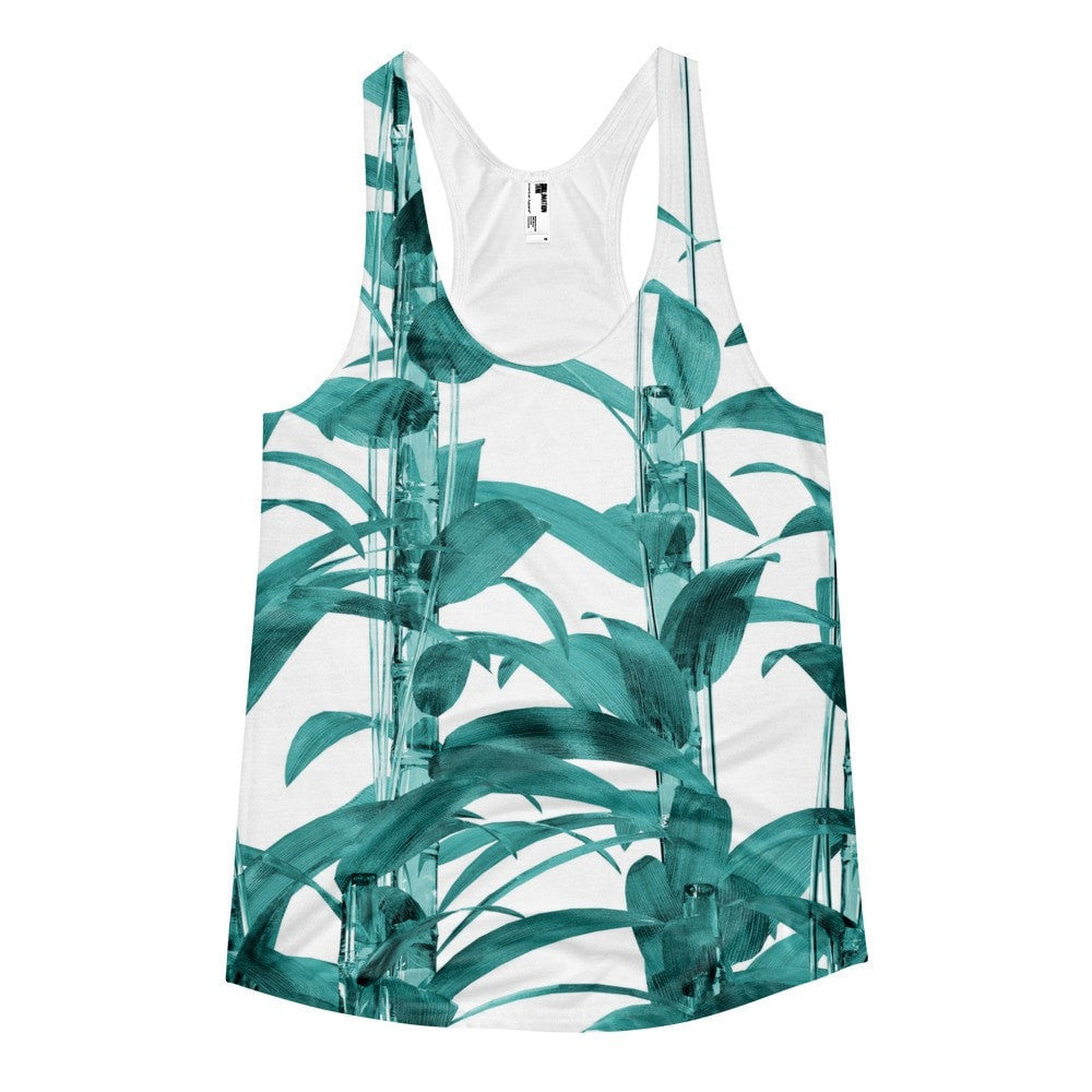 All over print - Transparent Bamboo Women's racerback tank
