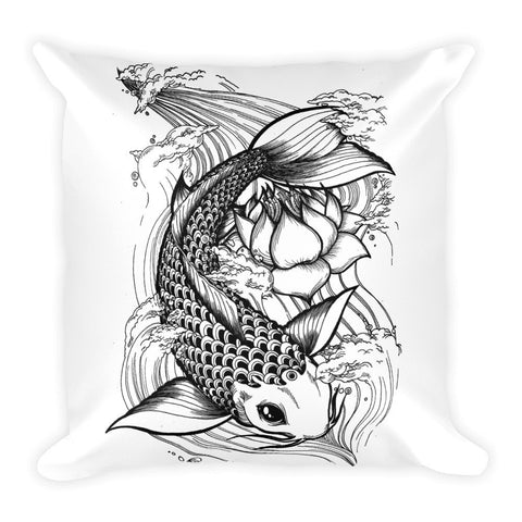 Koi & Petal pillowcase