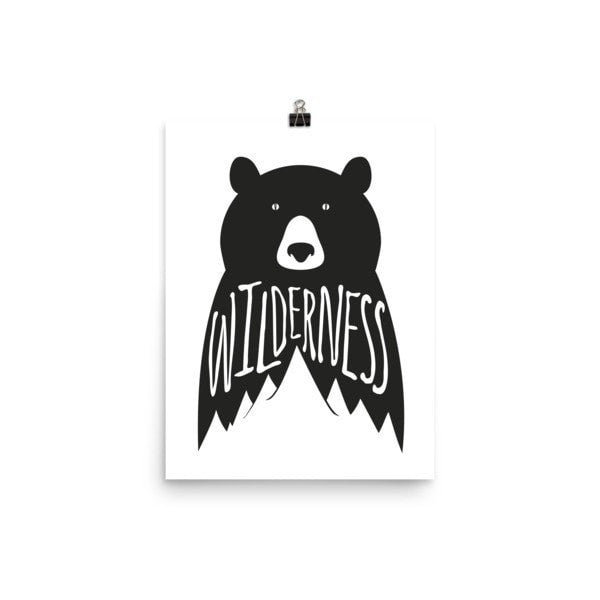 Wilderness Poster - Hutsylife - 5