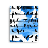 Chillin' Birds Canvas - Hutsylife - 2