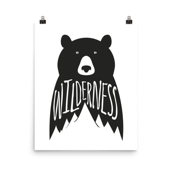 Wilderness Poster - Hutsylife - 9