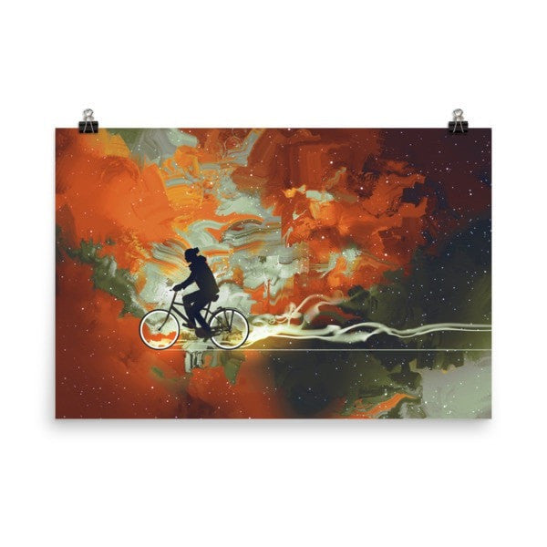 Bicycle man Poster - Hutsylife - 9