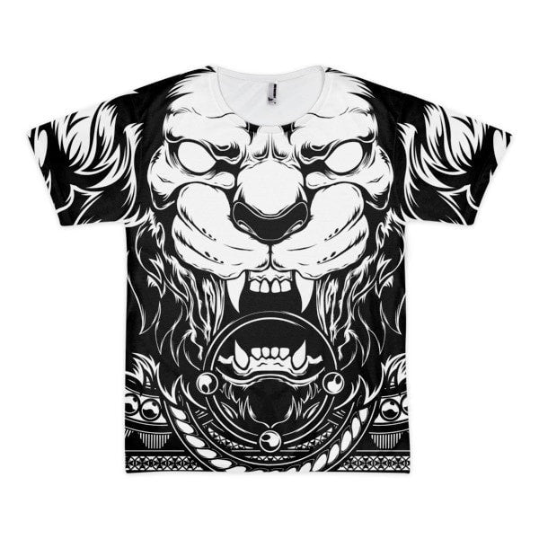 Lion Abyss Short sleeve men's t-shirt - Hutsylife