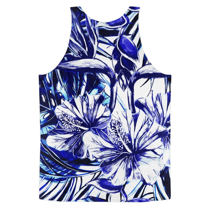All over print - Blue steel Classic fit men's tank top