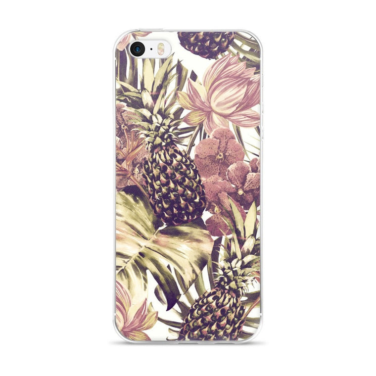 Pineapple touch iPhone case