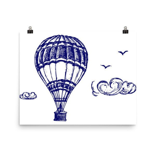 Hot air Poster - Hutsylife - 8