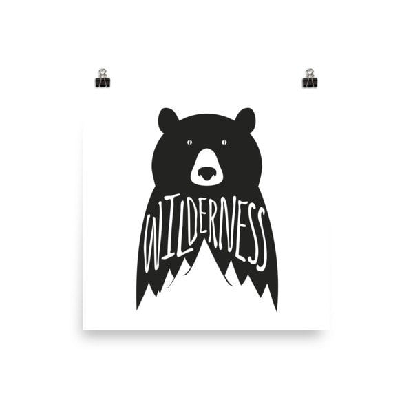 Wilderness Poster - Hutsylife - 2