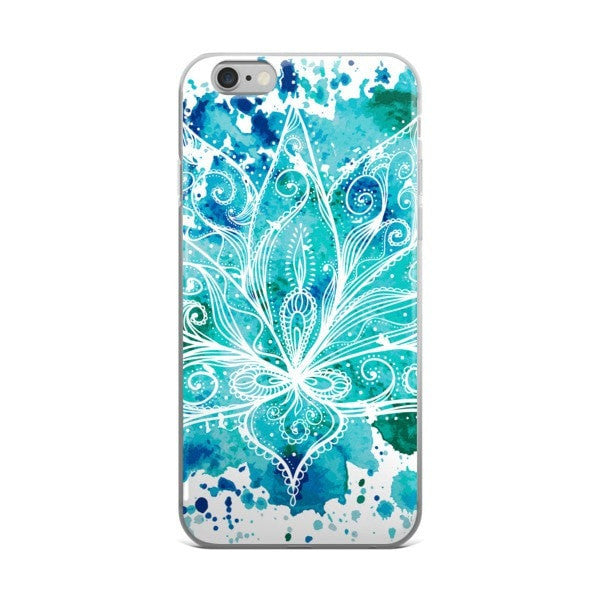 Boho lotus iPhone case - Hutsylife - 2