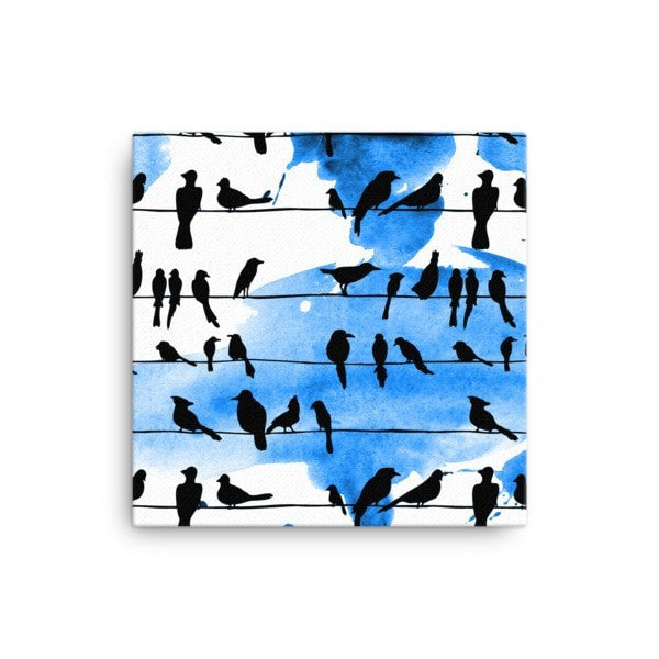 Chillin' Birds Canvas - Hutsylife - 1