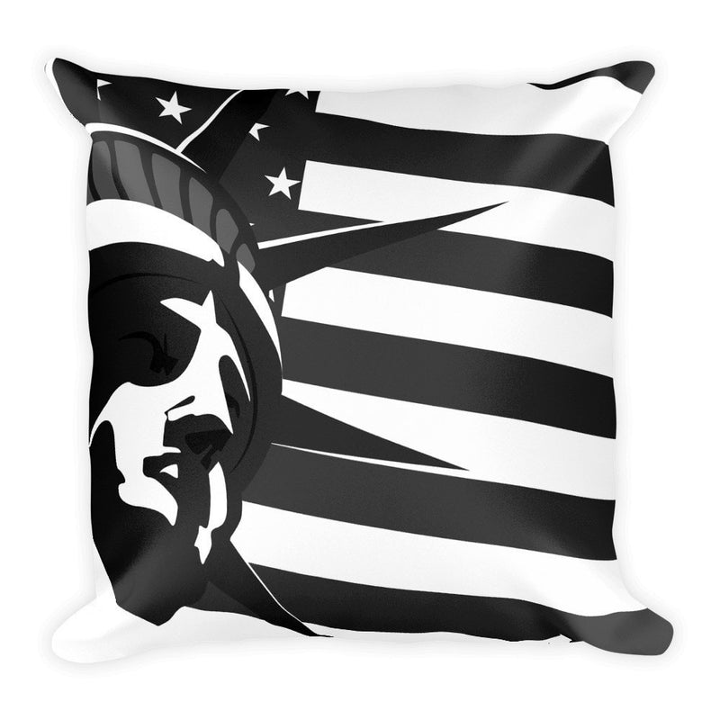 Black liberty pillowcase