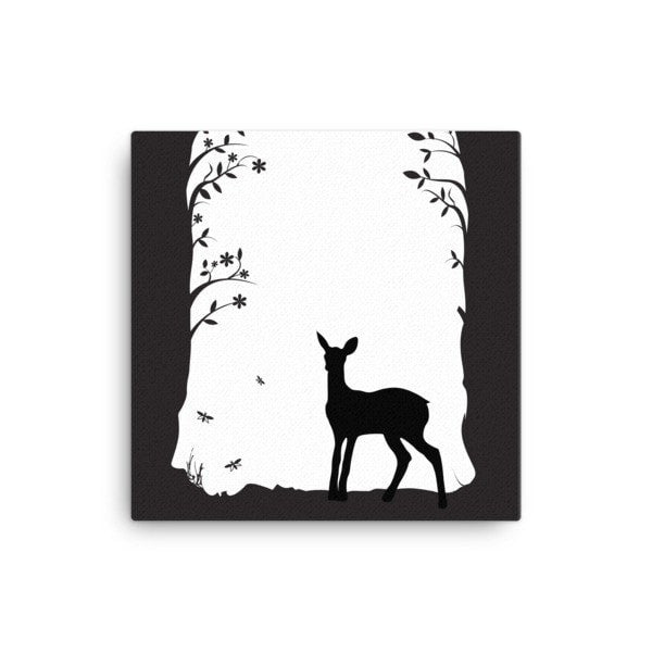 Deer's tunnel Canvas - Hutsylife - 1