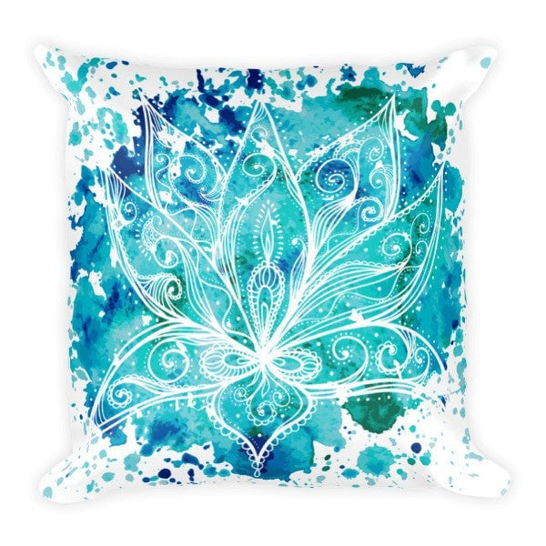 Boho lotus Pillowcase - Hutsylife - 2