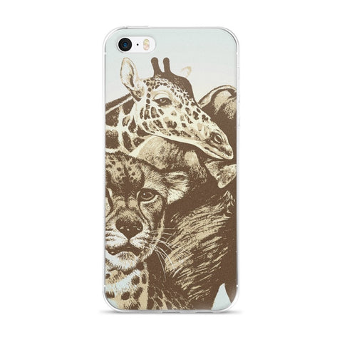 African expedition iPhone case