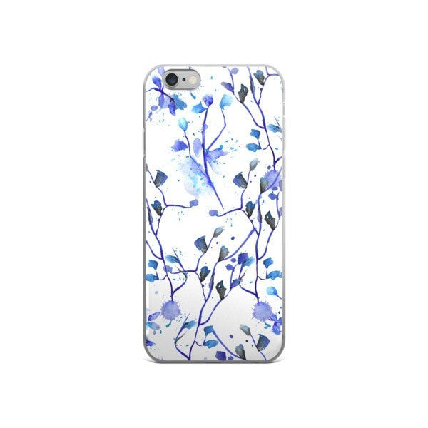 Blue vine iPhone case - Hutsylife - 3