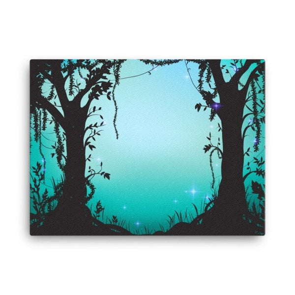 Thicket night Canvas - Hutsylife - 3