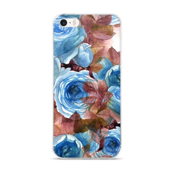 Autumn rose iPhone case