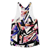 All over print - Psychadelic ay Women's racerback tank - Hutsylife - 2