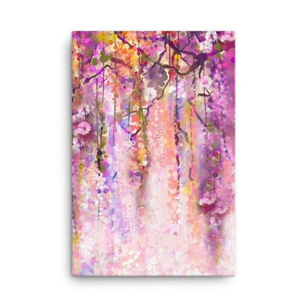 Purple lush Canvas - Hutsylife - 4