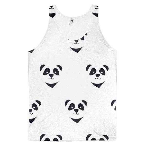 All over print - Panda express Classic fit men's tank top - Hutsylife - 1