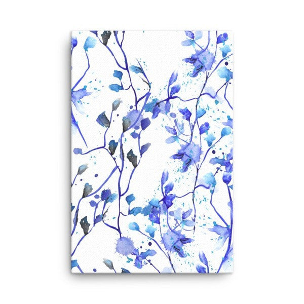 Blue Vine Canvas - Hutsylife - 4