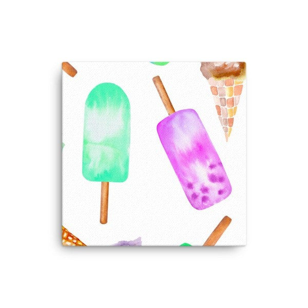 Popsicle life Canvas - Hutsylife - 1