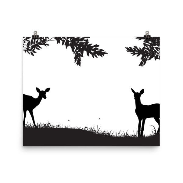 Lookout Deer Poster - Hutsylife - 4